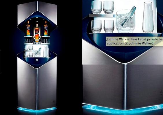 Johnnie Walker Blue Shot Price >> Johnnie Walker Blue Label private bar