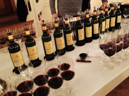pretty crazy vertical tasting for past 10 years vintages