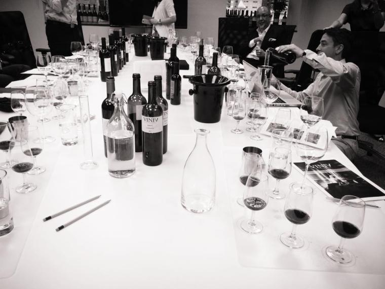 we picked the appellations, type of grape varietals, and finally we decided the % of the blend at BBR