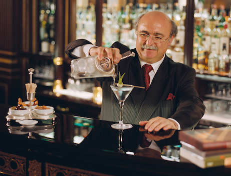william the Chef Barman at Le Meurice